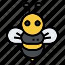bee, honey, insect, bug, farm, animal