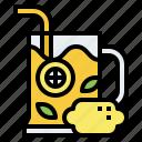lemonade, lemon, juice, beverage, refresh