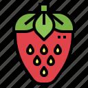 strawberry, fruit, diet, vegan, food