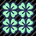clover, spring, plant, nature, season, natural