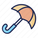 umbrella, spring, plant, nature, season, natural