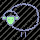 animal, easter, herd, lamb, livestock, sheep, spring