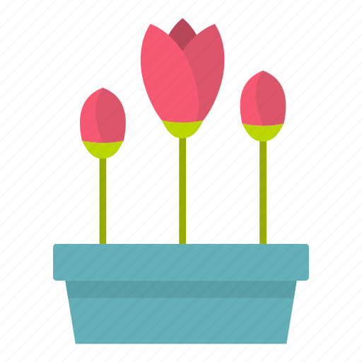 box, flowers, garden, leaf, nature, plant, seed icon