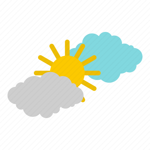 Clouds, nature, shine, summer, sun, sunny, weather icon - Download on Iconfinder