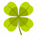 clover, irish, leaf, luck, nature, patrick, plant icon