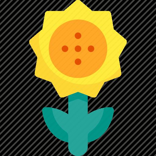 Flower, nature, spring, sunflower icon - Download on Iconfinder