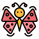 animals, butterfly, insect, moths icon