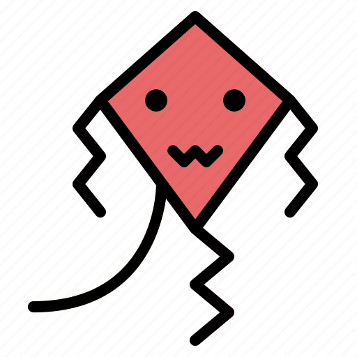 Childhood, fly, game, kite icon - Download on Iconfinder