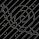 helix, nature, snail, spring, springtime icon