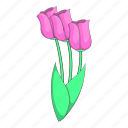flower, nature, plant, tulip icon