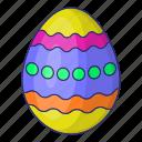 easter, egg, nature, spring