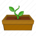 green, nature, plant, sprout icon