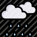 cloud, nature, rain, raining, season, spring, weather icon