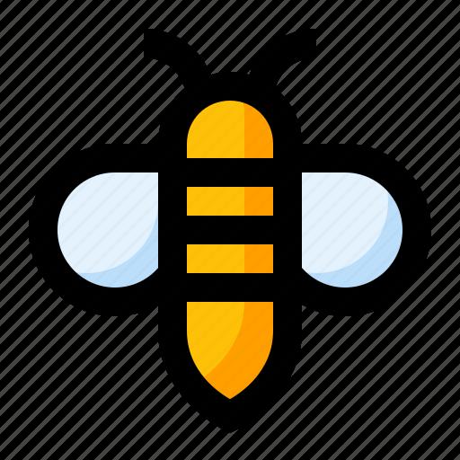 animal, bee, fly, honey, spring icon