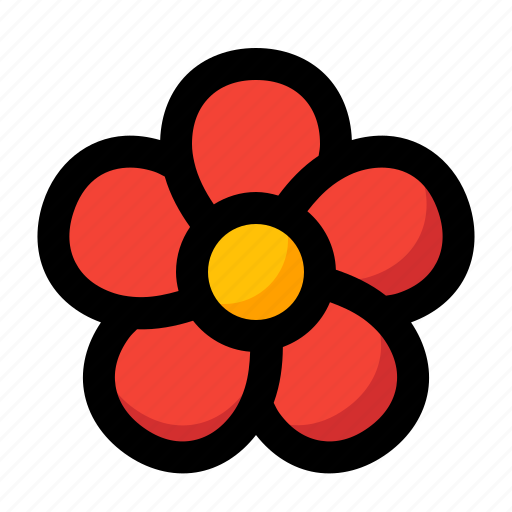 bloodroot, bloom, blossom, flower, spring icon