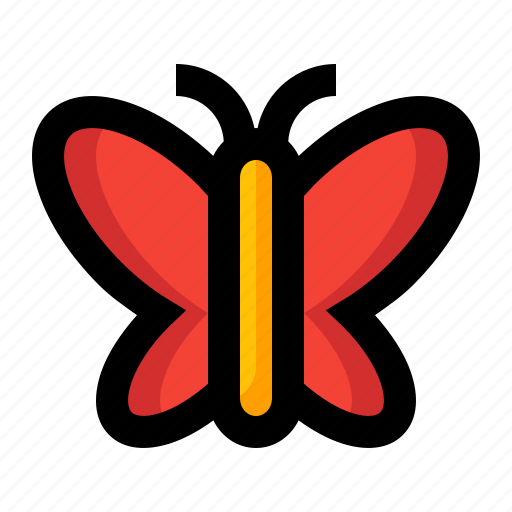 animal, butterfly, fly, insect, spring icon