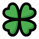 clover, leaf, spring icon