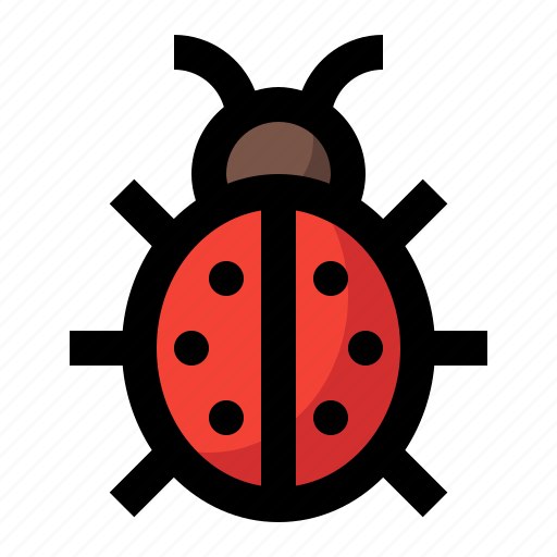 animal, fly, insect, ladybug, spring icon