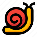 slow, snail, spring icon