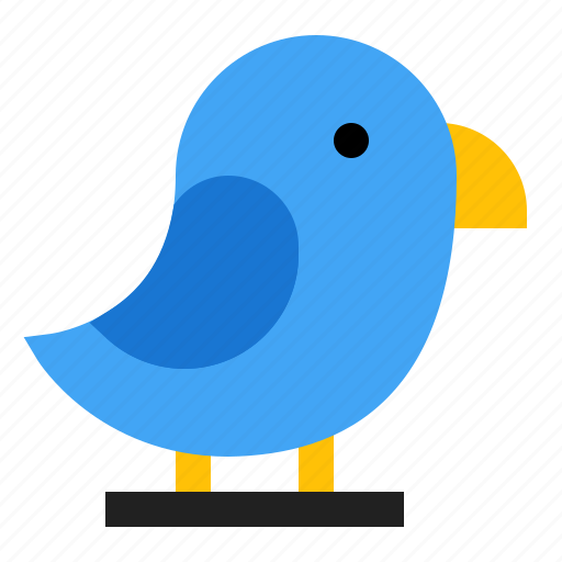 animal, bird, spring icon