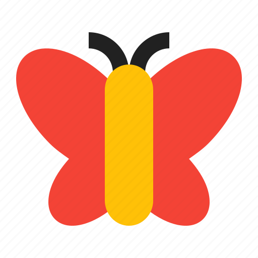Animal, butterfly, fly, insect, spring icon - Download on Iconfinder