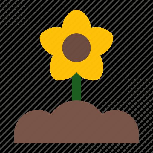 flower, grow, plant, spring icon