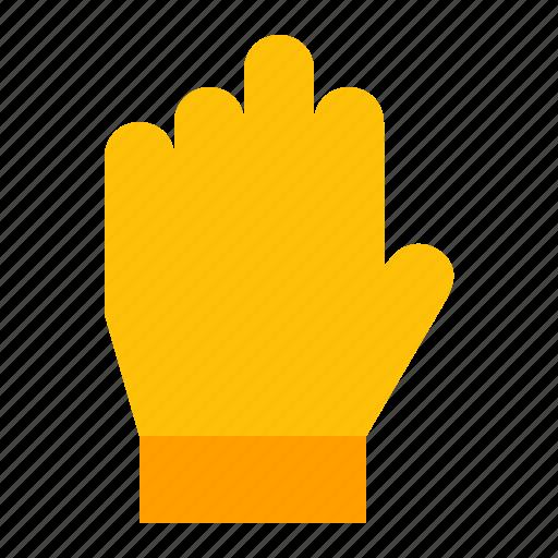 gardening, glove, hand, spring icon