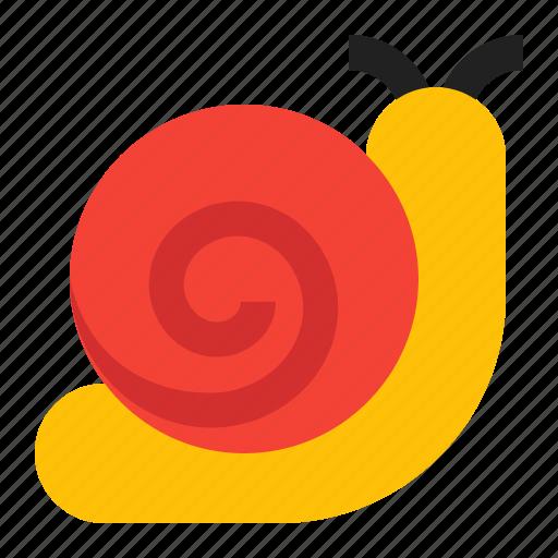 slow, snail, spring icon