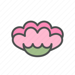 blossom, bud, flower, nature, pink, spring icon
