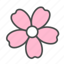 blossom, flower, nature, sakura, spring icon