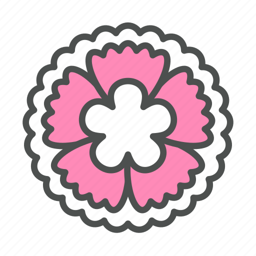 blossom, dianthus, flower, nature, spring icon