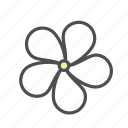 blossom, flower, jasmine, nature, spring icon