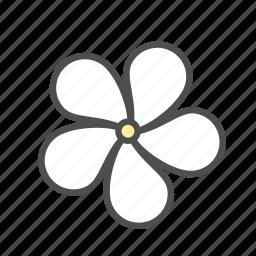 blossom, flower, jasmine, nature, spring icon