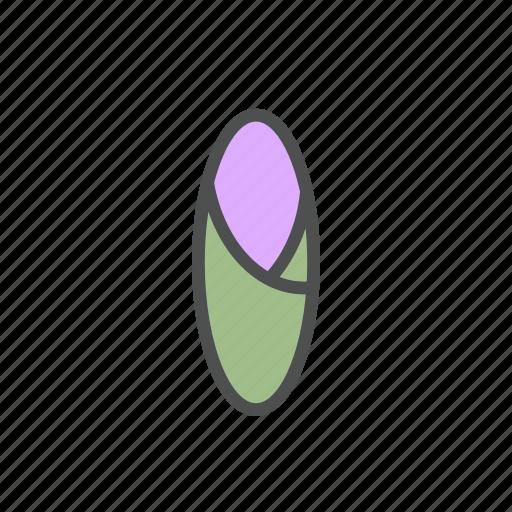 blossom, bud, flower, iris, nature, spring icon