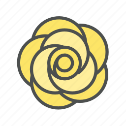 blossom, flower, nature, rose, spring icon