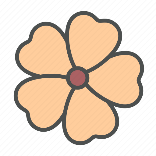 blossom, flower, nature, spring, thunbergia icon
