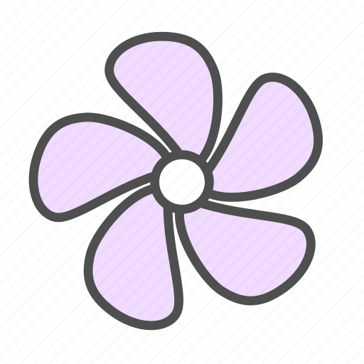 blossom, flower, minor, nature, periwinkle, spring, vinca icon