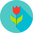 flower, garden, gardening, nature, plant, spring, tulip icon