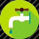 bibb, bibb cock, crane, faucet, tap, water, water tap icon