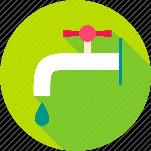 Bibb, bibb cock, crane, faucet, tap, water, water tap icon - Download on Iconfinder