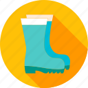 boot, footwear, garden, gumboots, gums, rubber, watertights icon