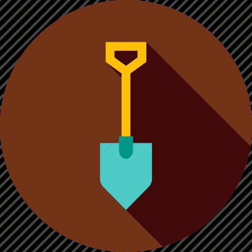 agriculture, equipment, garden, gardening, shovel, spade, tool icon