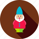decor, dwarf, figure, garden, gnome, leprechaun, statue icon