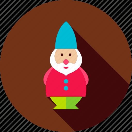 decor, dwarf, figure, garden, gnome, leprechaun, statue icon