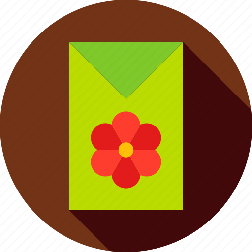 flower, garden, nature, package, plant, seed, spring icon