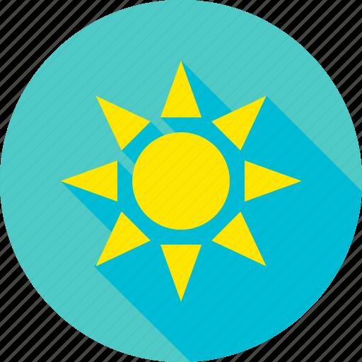 nature, outdoor, sky, sun, sunlight, sunshine, weather icon