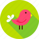 animal, bird, fowl, garden, nature, outdoor, spring icon
