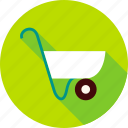 barrow, garden, gardening, outdoor, tool, wheelbarrow icon