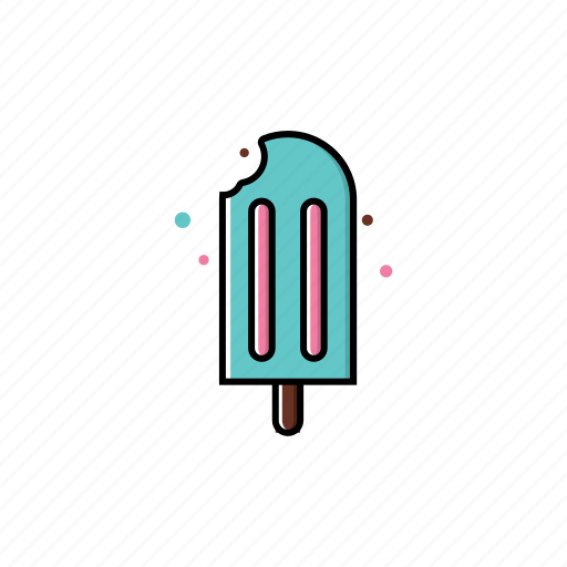 graphic, ice cream, melts, season, spring, sweet icon