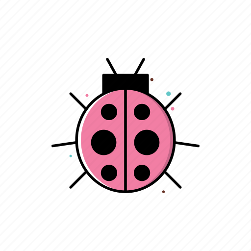 bug, insect, lady bug, ladybug, nature, season, spring icon